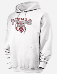 A&M Consolidated High School Hoodie in White with pockets